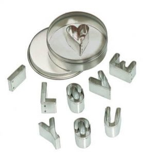 Mini Cookie Cutter Set