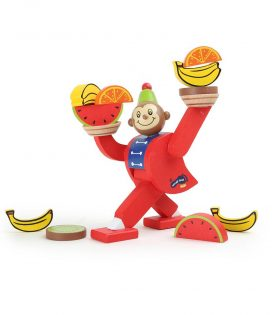Circus Monkey Balancing Game by Legler
