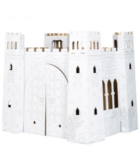 Castle Cardboard House by Legler