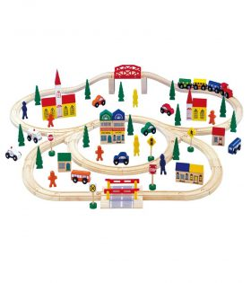 Commuter Traffic Train Set by Legler
