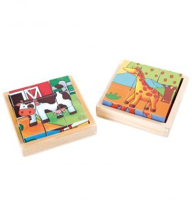 Farm & Zoo Puzzle Bricks by Legler