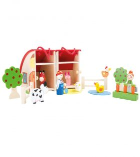Wooden Farm Play Set by Legler