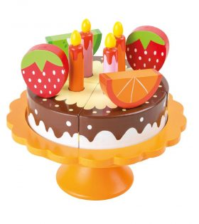 Wooden Birthday Cake by Legler