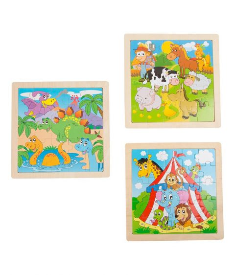 Circus Frame Puzzle by Legler