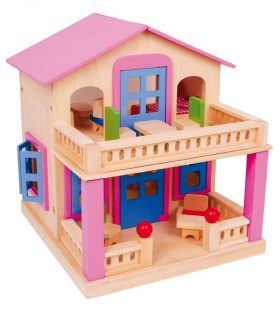 Wooden doll's house