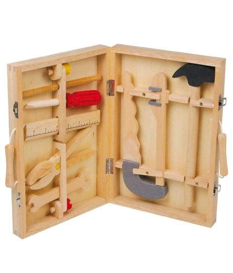 Wooden Toolbox Maik