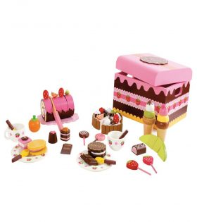 Wooden Sweeties Box