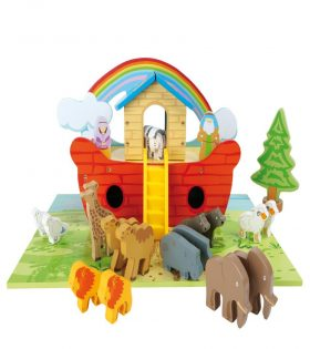 Legler - Wooden Noah's Ark Play Set