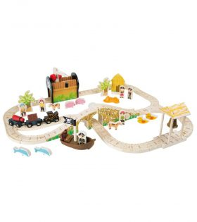 Pirate Island Railway Set
