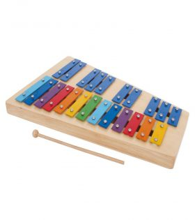 Wooden Xylophone Rainbow set
