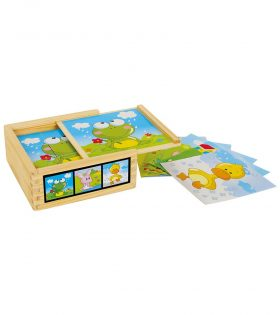 Cube Puzzle Animal Friends