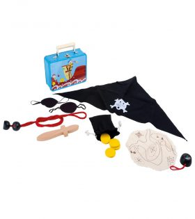 Suitcase Pirate Set by Legler