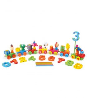 Animal Party Train by Legler