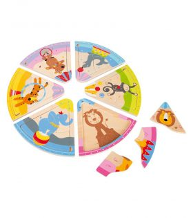 Circus Animal Wooden Puzzle by Legler