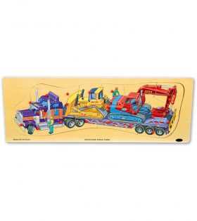 Wooden Puzzle Truck by Legler