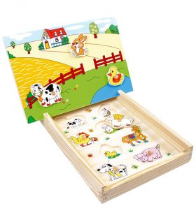 Magnetic Puzzle Farm by Legler