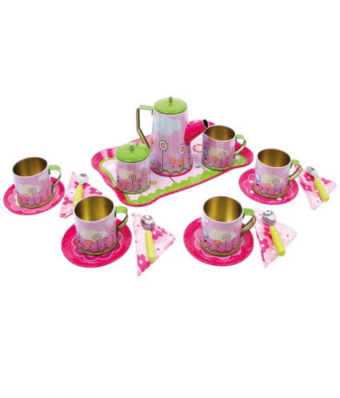 voilet tea set for kids