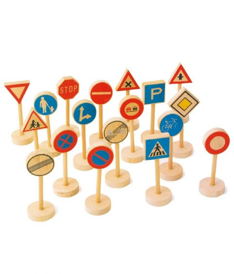 Wooden Traffic Signs by Legler