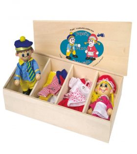 Pupsis Cloth Box for Kids by Legler