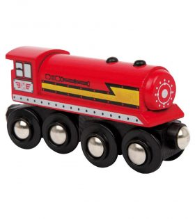 Wooden Locomotive for Kids by Legler