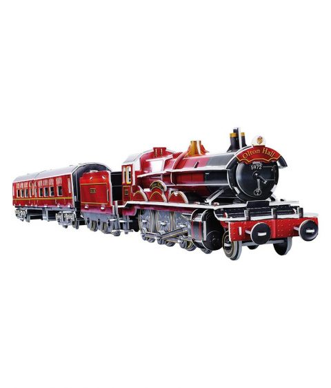 3D Wooden Puzzle Train for Kids by Legler