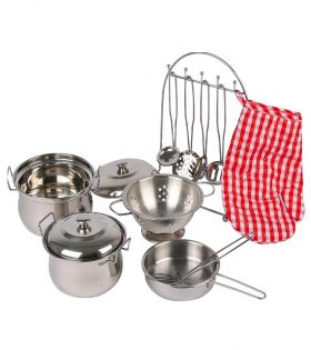 Cookware Tin Gustav for Kids by Legler