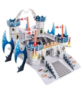 3-D Puzzle Dragon Castle by Legler