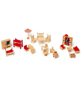 Doll's Furniture Garden by Legler