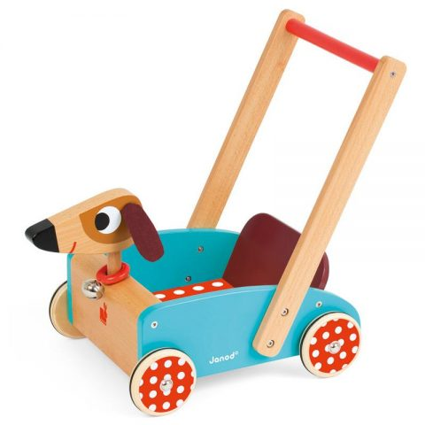 Janod – Crazy Doggy Cart