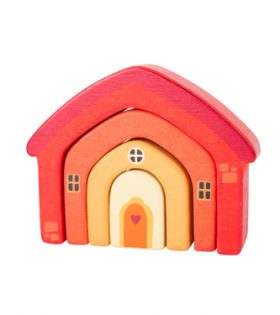 Legler – House Wooden Building Blocks