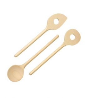 Wooden spoon set 3 elem