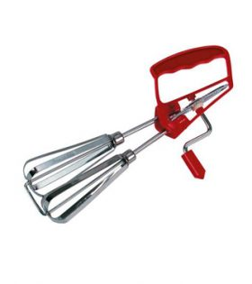 Egg beater stainless steel 25cm