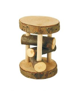 Gluckskafer – Branchwood Rattle Wheel large 12 x 8cm