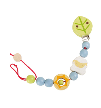 Baby Soother Chain Sheep
