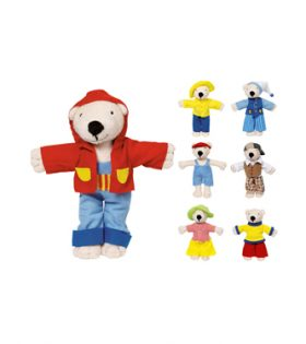 GOKI – Dress Up Soft Bear