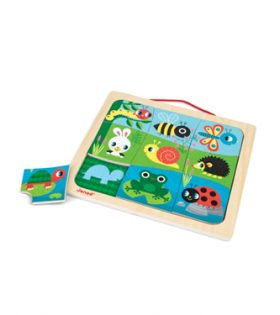 Happy Garden Magnetic Puzzle