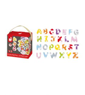 52 Splash Magnetic Letters