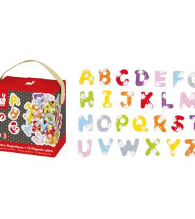 Janod - 52 Splash Magnetic Letters