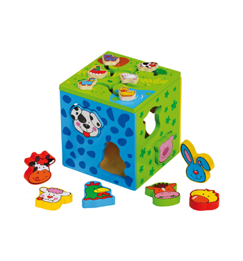 Legler – Motor Activity Cube 2 in 1