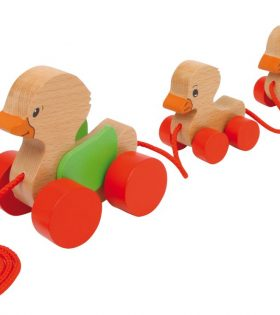 Legler - Pull Along Duck Family