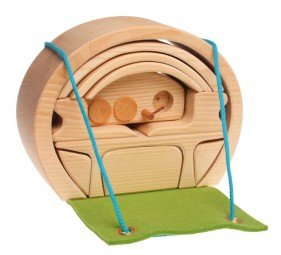 Grimm's Portable Doll House, Natural