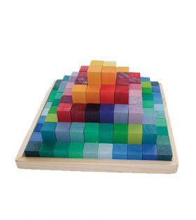 Grimm's Building Set, Pyramid blocks small