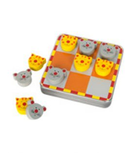 Legler – Magnetic Tic Tac Toe Cat and Mouse