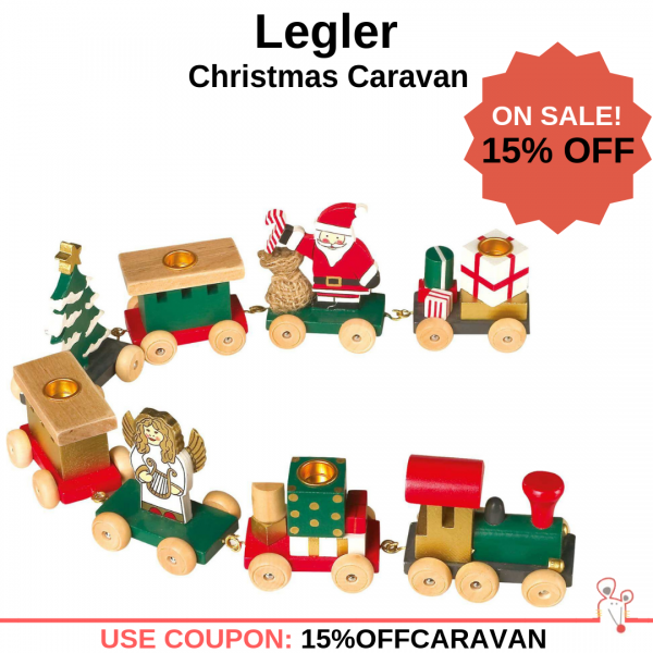 Save 15% OFF Legler - Christmas Caravan Decoration