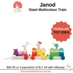 Popular Toy - The Janod Giant Multicolour Train