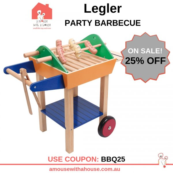 25% OFF Legler – Party Barbecue