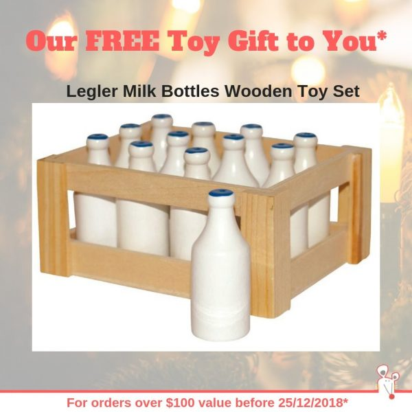 Our FREE Toy Gift to You*