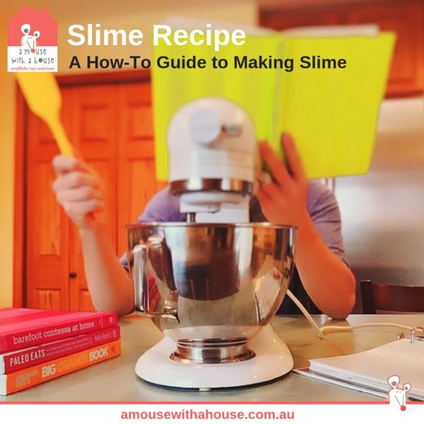 Parent Tip: How to Make Slime