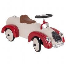 GOKI - Ride-on vehicle beige / red