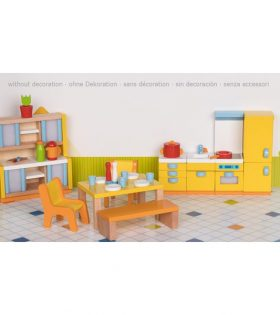 ki - Furniture for flexible puppets, kitchen